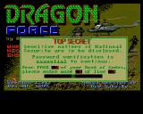 D.R.A.G.O.N. Force Amiga Copy protection