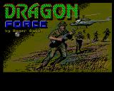 D.R.A.G.O.N. Force Amiga Title screen