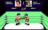 Fight Night Atari 7800 A fight in progress