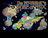 Dr. Plummet's House of Flux Amiga Title screen
