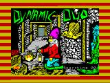 Dynamic Duo ZX Spectrum Title screen