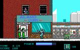 RoboCop DOS Under attack from above and below (EGA)