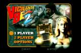 Vigilante 8: 2nd Offense PlayStation Main Menu