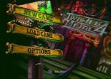 Twisted Metal 4 PlayStation Main Menu