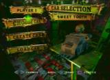 Twisted Metal 4 PlayStation Selecting a character