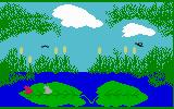Frog Bog Intellivision Beginning a game