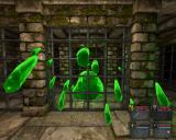 Legend of Grimrock Windows A cheating Slime attacks through the bars
