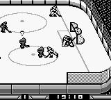 Blades of Steel Game Boy Uh oh, not good