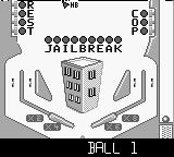 Pinball Mania Game Boy Going for a game with Jailbreak