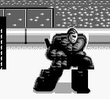 Blades of Steel Game Boy Goalkeeper