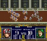 Der Langrisser SNES troopers vs barbarians