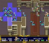 Der Langrisser SNES Battle in temple