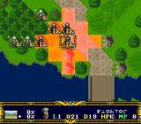 Der Langrisser SNES Enemy Influence