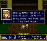 Der Langrisser SNES Sister of hero