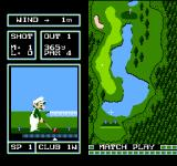 Family Computer Golf: Japan Course NES The second player plays as Luigi