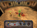 Kingdom Elemental Tactics Windows 3 knights slash enemy, with archer support