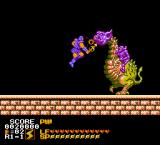Astyanax NES Down with you, beast!