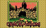 The Crack of Doom DOS Title screen (CGA)