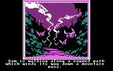 The Crack of Doom DOS A long winding road (CGA)