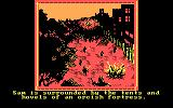 The Crack of Doom DOS Uh oh, game over (CGA)
