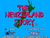 The New Zealand Story SEGA Master System Title