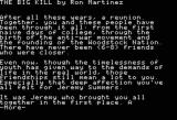 Make Your Own Murder Party Apple II Details on one of the scenarios