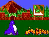 The New Zealand Story SEGA Master System The kiwis get away from the leopard seal...