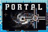 Portal Apple II Title screen