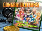 Dance Dance Revolution: Disney Mix PlayStation Congratulations screen