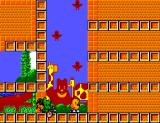 The New Zealand Story SEGA Master System Don't waste too much time, otherwise the green devil will kill you