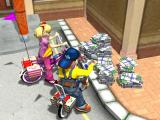 Pranksters 3D Windows Collecting newspapers - intro