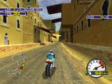 Moto Racer 2 PlayStation In Sahara desert, the people is watching you