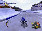 Moto Racer 2 PlayStation You can race also with snow conditions