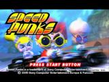 Speed Punks PlayStation US title screen