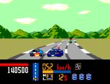 Chase H.Q. SEGA Master System Damaged the slasher's car