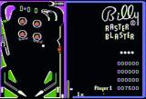 Raster Blaster Apple II Game in progress