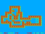Soko-Ban TRS-80 CoCo When played on a CoCo 3, there are many more colors available to change the palette (level 1/RGB)