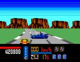 Chase H.Q. SEGA Master System Damaged the robber's car