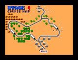 Chase H.Q. SEGA Master System Stage 4 Course Map