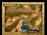 Ogre Battle 64: Person of Lordly Caliber Nintendo 64 World map