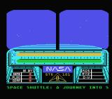 Space Shuttle: A Journey into Space MSX Title Screen
