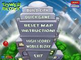 Tower Bloxx Browser Main menu
