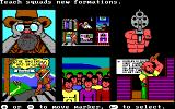 The Ancient Art of War DOS Game options (EGA/Tandy)