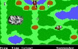 The Ancient Art of War DOS Begin game - Sherwood Forest (EGA/Tandy)