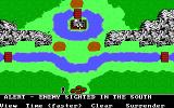 The Ancient Art of War DOS Alert - Enemy sighted in the South - Sherwood Forest (EGA/Tandy)