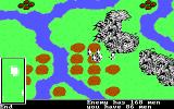The Ancient Art of War DOS View status of Enemy or your men - Custer's Last Stand (EGA/Tandy)