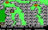 The Ancient Art of War DOS Your Squad captured - Custer's Last Stand (EGA/Tandy)