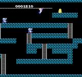 Super Lode Runner NES Crossing across on a zipline