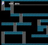 Super Lode Runner NES Exiting a level