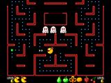 Ms. Pac-Man SEGA Master System Ghosts turn to eyes when you eat them